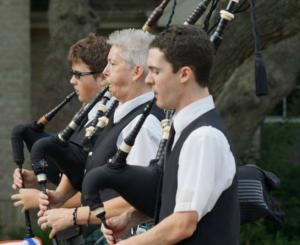 Sliver Thistle Pipe Band